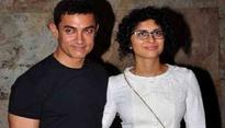 Aamir showcases his 'Thug' in Italy, with family