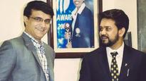 Need you back: Sourav Ganguly puts his weight behind Supreme Court-ousted Anurag Thakur