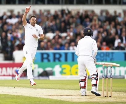 1st Test: Anderson rips through Lanka batting to seal big England win