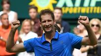 World No. 192 Florian Mayer wins Halle title after defeating Zverev