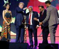 How Donald Trump ended up at a Bollywood-themed Hindu rally in New Jersey