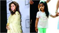 Did you know? Dimple Kapadia was baby-sitting through the week
