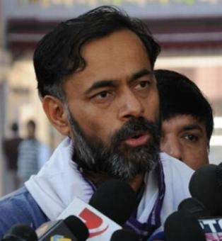Yogendra Yadav calls showcause notice a 'JOKE'