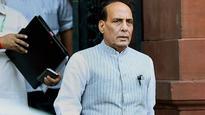 Rajnath talks tough to Pakistan on Kashmir unrest; all party meet on Friday
