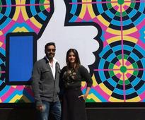 Ajay Devgn and Kajol have a blast promoting Shivaay at Facebook headquarters  view pics!