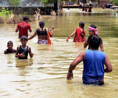 Death toll in Bihar's flood rises to 153