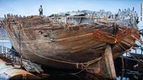 Famed arctic explorer Roald Amundsen's ship raised to surface after 85 years