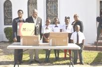 MP makes technology available to students with donations
