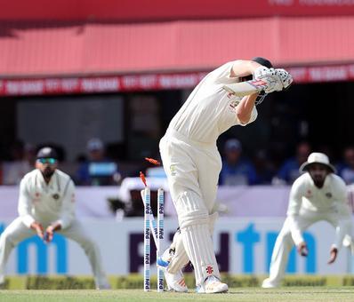 PHOTOS: India vs Australia, Dharamsala Test, Day 1
