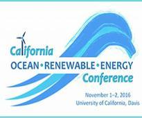 California Ocean Renewable Energy Conference, Walter A. Buehler Alumni Center Davis »