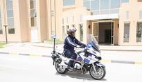 Abu Dhabi Police Uses First Emergency Respondent Rescue Motorbike