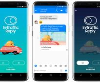 Samsung's In-Traffic Reply app automatically replies to messages when you are driving