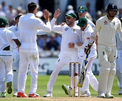 2nd Test: South Africa crush England to level series