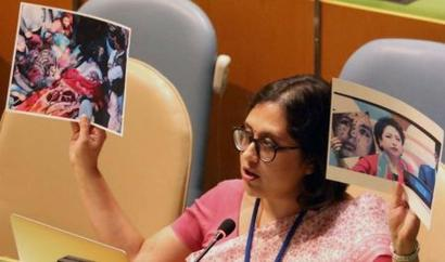 India counters Pakistan's fake pitch with 'true picture' in UN
