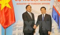 Vietnamese, Cambodian foreign ministers confer on sea disputes