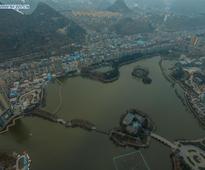 Scenery of Yaochi wetland in China's Guizhou