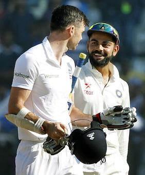 Kohli plays mediator as Ashwin goes after Anderson