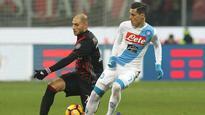 Gabriel Paletta, Juraj Kucka play well as AC Milan slip against Napoli