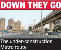 10 buildings on Metro route to be demolished