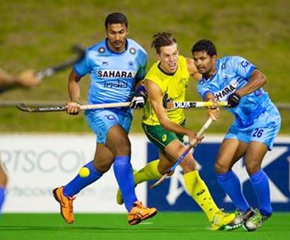 India go down to Australia in high-scoring match