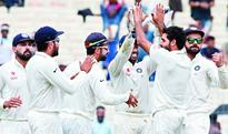 Bhuvi leaves NZ dazed with a five-wicket haul