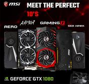 MSI Unveils Six Flavors Of NVIDIA GeForce GTX 1080 Cards