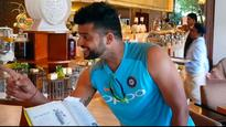 Watch: Raina crooning to Kishore's 'Yeh shaam mastani' shows how he's relishing Team India comeback