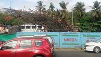 Metro pier crashes at Jogeshwari, probe on