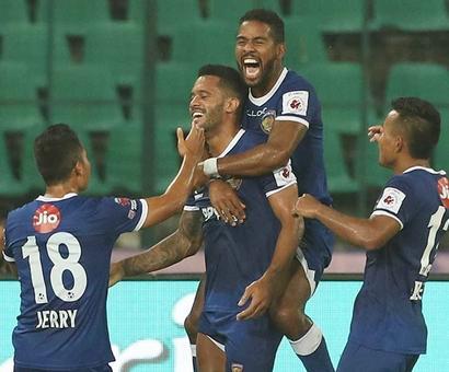 ISL 4: Chennaiyin FC outplay NorthEast United FC