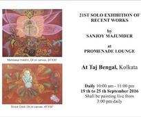 Art works based on mythology exhibited in Kolkata