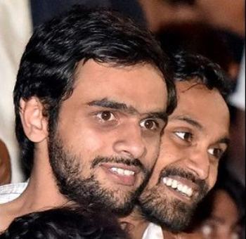 HC puts on hold JNU action against Umar, Anirban