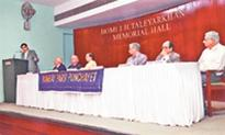 Condolence meeting for ex-Chief Justice of India, the late Sarosh Homi Kapadia