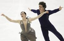 Canada's Virtue, Moir win ice dance at NHK to qualify for GP Final