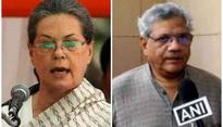 Presidential poll on mind, Sitaram Yechury meets Sonia Gandhi