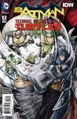 Thrash the Foot and ride a dinosaur in 'Batman/Teenage Mutant Ninja Turtles #3'