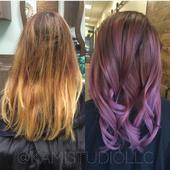 Brassy-to-Bold Transformation from Solo Artist Emily Sideserf