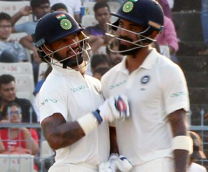 PHOTOS: Openers lead India's strong reply on Day 4