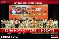 Maharashtra polls: Shiv Sena makes offer of 119 seats, BJP adamant on 130, alliance in trouble
