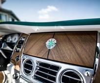 Emerald Encrusted Rolls-Royce Wraith & Dawn Revealed