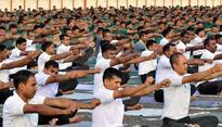 Nation celebrates third International Yoga Day