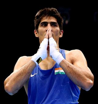 Vijender calls on the country to pray for Rio-bound athletes