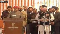 Captain Amarinder Singh sworn-in as Punjab Chief Minister