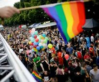 Thousands dance through streets of Berlin to celebrate same sex marriage, promote LGBT rights