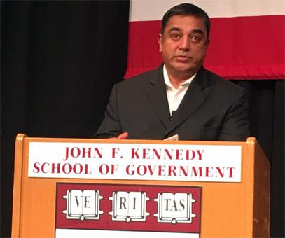 Why Kamal Haasan is in the United States
