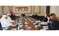 Representatives Council's Human Rights Committee Meets with a Delegation from Nottingham University