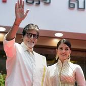 Amitabh, Aishwarya promote jewellery store in Chennai