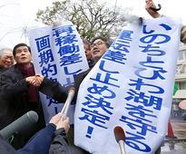 After injunction, work starts to halt reactor at Takahama plant