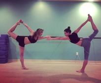 5 Times Your Fave Celebs Have Instagrammed Some Seriously Impressive Yoga