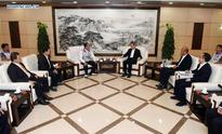 Head of Taiwan Affairs Office meets delegation from Taipei in Beijing