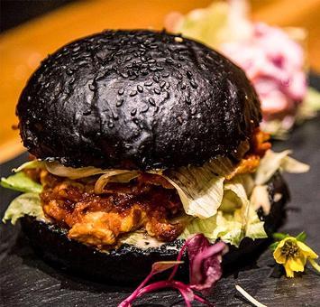Want to eat a black burger in Mumbai?